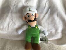Nintendo super Mario bros FIRE LUIGI Plush