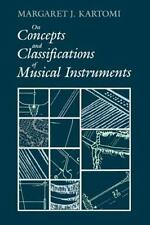 On Concepts and Classifications of Musical Instruments (Paperback or Softback)