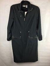 New With Tags Chicos Women's Size 0 (S) Zenergy Neema Kinsey Dress Black Zipper