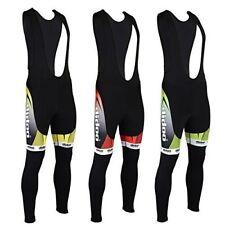Didoo New Mens Cycling Bib Tights Winter Thermal Padded Long Pant Biking Trouser