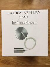 Laura Ashley Ida Nickel Pendant Light -