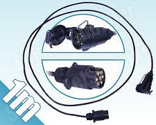 Verlängerungskabel Anhängerkabel Kabelsatz mit Stecker & Kupplungsdose 7pol. 1m