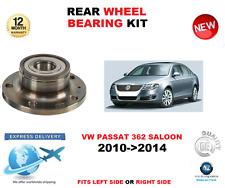 FOR VW PASSAT REAR WHEEL BEARING 2010->2014 362 SALOON LEFT or RIGHT HAND SIDE