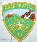 WASHINGTON STATE, GRANITE FALLS FIRE DISTRICT 17 PATCH
