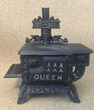 Vintage Queen Cast Iron Stove/Oven Promotional Bank for Corninq Ware Pyrex Offer
