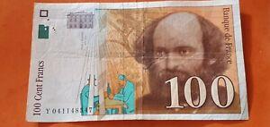 BILLET 100 FRANCS CEZANNE  1998