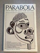 Parabola Magazine Volume One Issue One Winter 1976 1st issue Mythology
