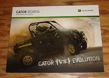 Original 2013 John Deere Gator RSX850i Sales Brochure 13