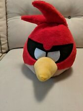 """ANGRY BIRDS SPACE 12"""" PLUSH Red Masked Cosmic Bird with SOUND Retired"""