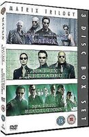 The Matrix Trilogia(3 Film) Nuovo DVD Region 2