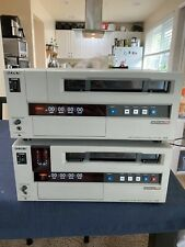Sony Uvw-1400A & Uvw-1200 Professional Beta Sp VideoCassette Recorder Player Lot
