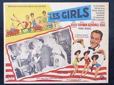 Gene Kelly LES GIRLS Mitzi Gaynor Kay Kendall Tania Elg LOBBY CARD 1957