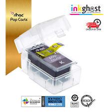 Rihac Black PG510 PG512 Pop Carts for Canon Cartridges MX350 MX360 MX410 MX420