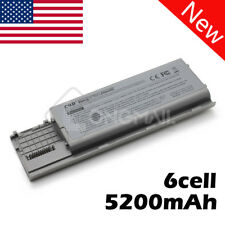 New 5200mAh 6 Cell Battery For Dell Latitude D620 D630 D631 D630c PC764 312-0383