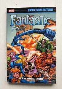 Fantastic Four At War Atlantis Marvel Epic Collection Graphic Novel Comic Book