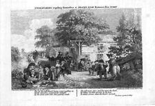 Antique (Pre - 1900) Miniature Famous Places Art Prints