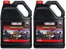 Yamalube 10W-40 All Purpose Performance Engine Motor Oil OEM Yamaha 2 Gallons
