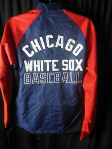 Chicago White Sox MLB Men's Light Weight Front Snap Starter Jacket