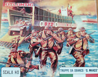 truppe da sbarco san marco atlantic 1/72