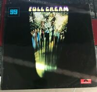 LP VINYL CREAM - FULL CREAM UK 2ND PRESS POLYDOR 2447 010 CLAPTON BRUCE EX/EX