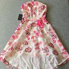 Alexia Admor embroidered halter dress sz 0 New With Tags