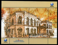 Paraguay 2017 MNH Municipal Theatre 128 Years 1v M/S Architecture Stamps