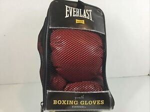 Everlast Novice Youth Classic Red Training Boxing Gloves Model 3003
