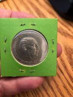Spain 1949 (50) 5 Pesetas World Coin UNC