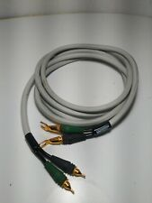 Monster Cable M-Series MCX-IS 10ft Pair Speaker Cables