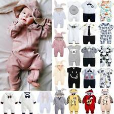 Toddler Baby Kids Boys Girls Romper Jumpsuit Casual Bodysuit Outfit Clothes -US