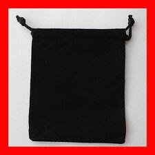 NEW 20x Double Sided Velvet Rectangle Gift Pouch Bag 10x12cm