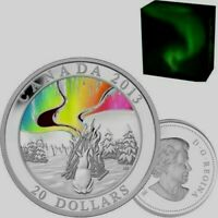 2013 Canada $20 Dollars 9999 silver The Great Hare Story Of The Northern Lights