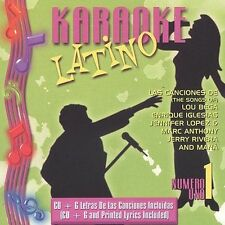 FREE US SH (int'l sh=$0-$3) NEW CD Various Artists: Karaoke Latino 1 Karaoke