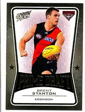 2013 AFL SELECT PRIME DRAFT GOLD Brent Stanton Essendon no. 025 of 145