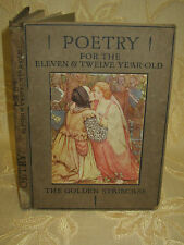 Antique Collectable Book Of The Golden Staircase Poetry, By Louey Chisholm-c1910