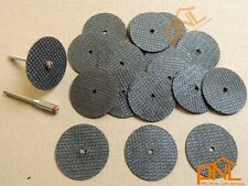 "1.25"" fiberglass reinforced cutoff wheel disc dremel w 2 Mandrel 1/8"""