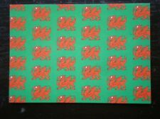 POSTCARD B45-4 THE WELSH DRAGON - EMBLEM