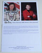 Helen Sharman Signed Official 6x4 Photo Autograph Britain's First Astronaut COA