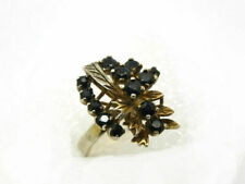 Vintage 925 Sterling Silver Sapphire Ring size N