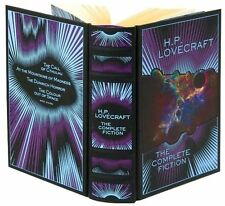*New* H.P. LOVECRAFT: THE COMPLETE FICTION * 2011 Sealed Leatherbound *