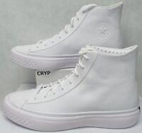 New Mens 11 Converse CTAS Modern Hi White Leather Shoes 157199C $140