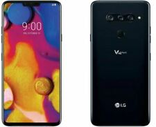 "LG V40 ThinQ 6.4"" QHD + OLED, 64GB Sprint Smartphone Black FRB"