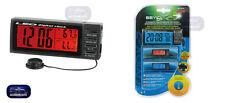 Termometro Temperatura interna-esterna 12V. 24V Orologio Multifunzione- Sveglia
