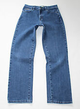 "Vintage Blue Denim LEE Relaxed Straight Leg Faded Zip Fly Jeans Size W30"" L31"""