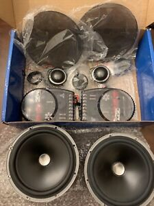 JL Audio ZR650-CSi 2-Way 6.5in. Component Speakers System Complete, Never Used