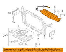 KIA OEM Soul Radiator Core Support-Sight Shield Splash Cover Panel 86353B2000