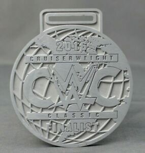 Authentic WWE Cruiserweight Classic Finalist Raw Plate Die Cut Medal Prop 1 of 3