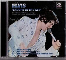 Elvis presley CD caught in the Act-Live à Las vegas 1973
