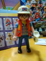 orig pkg PM #70369 Playmobil SERIES 18 MAN IN TOWEL W// SAUNA BUCKET new fig