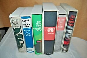 First Edition Library FEL  6 Books LOT Faulkner Warren Mailer  Lewis Kesey